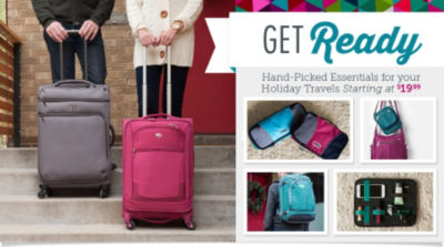Get Ready with Hand-Picked Essentials for Your Holiday Travels Starting at $19.99! Shop Now