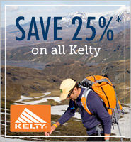 Kelty Sale - save 25%