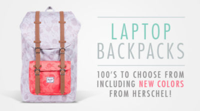 Choose from 100s of Laptop Backpacks Including tons of new colors from Herschel! Shop Now