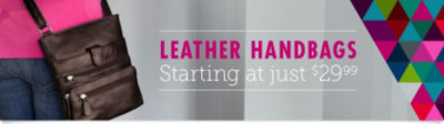 Shop Leather Handbags & Purses Starting at just $29.99