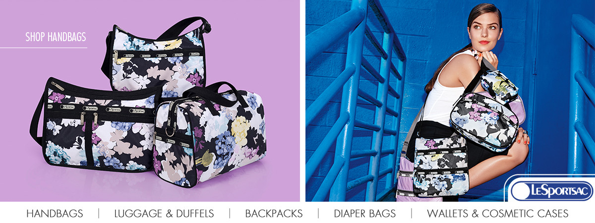 Shop LeSportsac Handbags, Luggage, Duffels, Bacpacks, Diaper Bags, Wallets & Cosmetic Cases