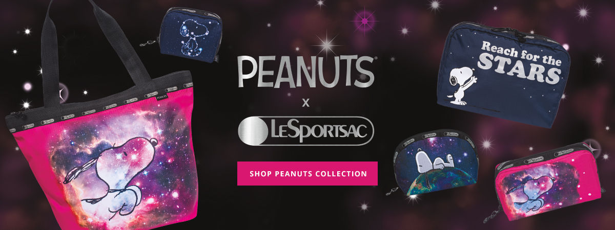 Shop LeSportsac Peanuts Collection