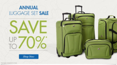 Annual Luggage Set Sale | Save up to 70% | Shop Now