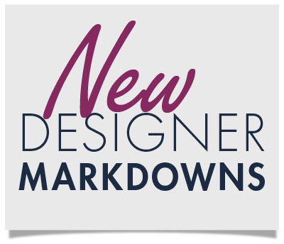 Shop New Designer Markdowns