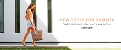 New Totes for Summer | Playful prints and colors you're sure to love! | Shop Now