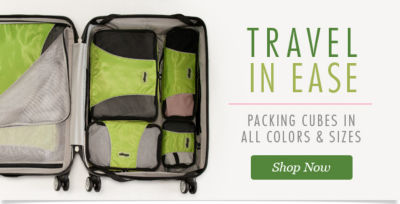 Travel in Ease: Packing Cubes in All Colors and Sizes! Shop Now