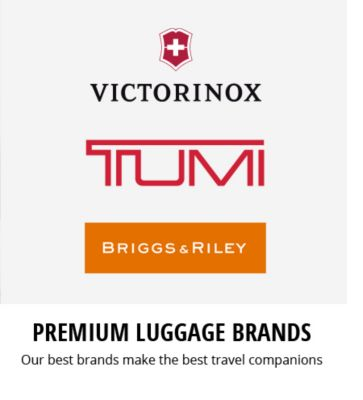 Premium Luggage Brands | Our best brands make the best travel companions
