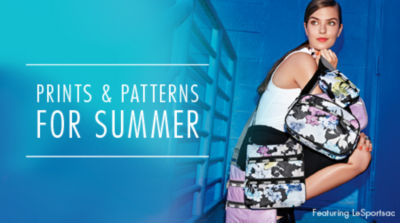 Prints & Patterns for Spring : featuring LeSportsac Handbags & Purses. Shop Now!