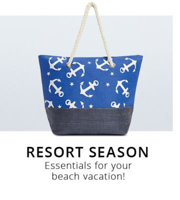 Resort Season | Essentials for your beach vacation