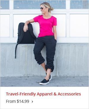 Apparel & Accessories Starting at $14.99