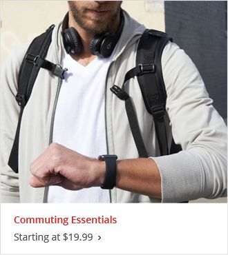 Starting at $19.99 Commuting Essentials
