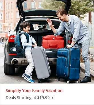 Simplify your Family Vacation Starting at $19.99