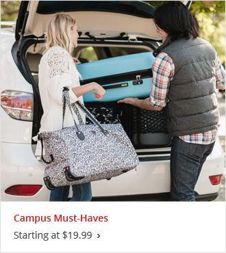 Campus Must-Haves Starting at $19.99