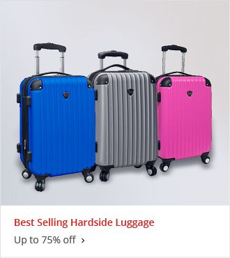 Best Selling Hardside Luggage Up to 75% off