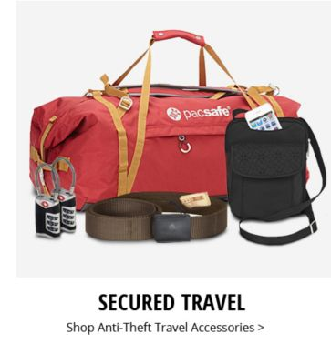 Secured Travel | Shop Anti-Theft Travel Accessories