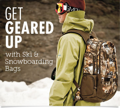 Get Geared Up-Ski and Snowboarding Bags