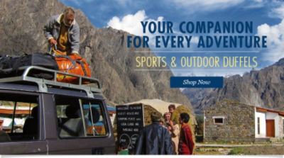 New Sports & Outdoor Duffels | Shop Now