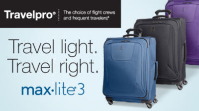 Travel Light. Travel Right. Shop Travelpro Maxlite 3 Luggage.