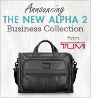 Accouncing the New Alpha 2 Business Collection from TUMI