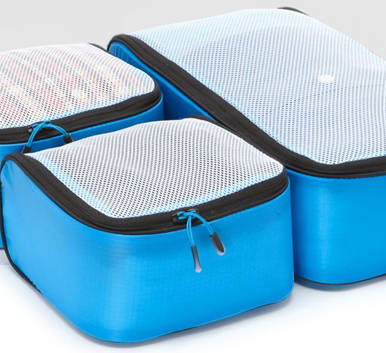 Ultralight Packing Cubes