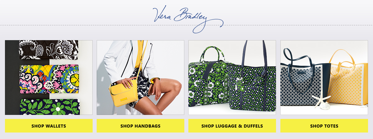Shop Vera Bradley Wallets, Handbags, Luggage & Duffels, & Totes