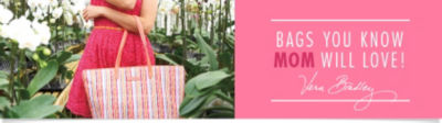 Shop Handbags & Purses you Know MOM will Love! Featuring Vera Bradley