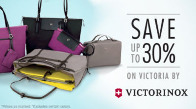 Save up to 30% on Victoria Luggage Collection by Victorinox. Shop Now