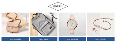 Shop Fossil