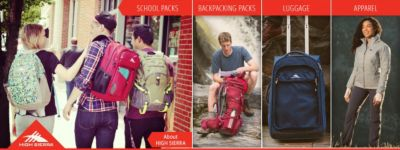 Shop High Sierra Backpacks