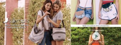 Shop Sakroots Handbags, Backpacks, and Accessories