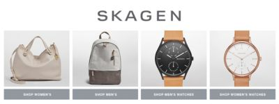 Shop Skagen Mens, Women's, Men's Watches, Women's Watches
