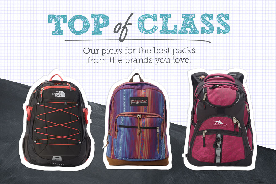 Our picks for the best backpacks from the brands you love.