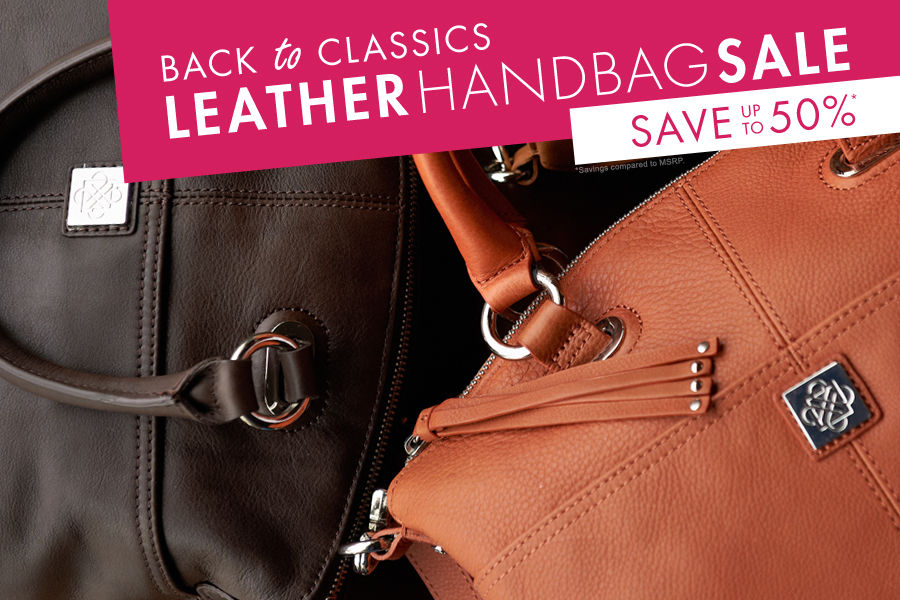 Shop eBags Leather Handbag Sale. Save up to 50% on handbags & purses.