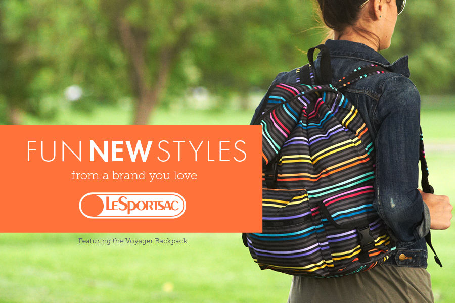 Fun new styles from LeSportsac. Shop handbags & purses.