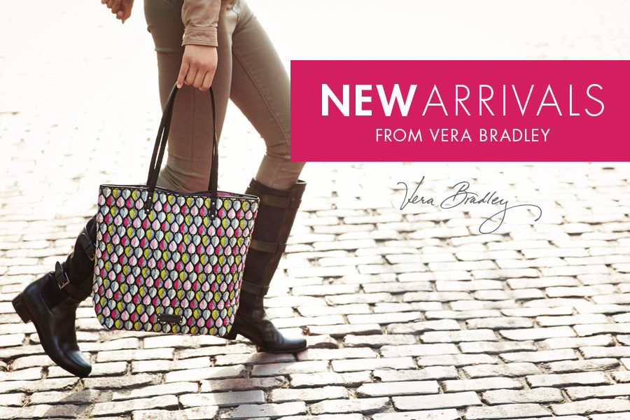 Shop New Arrivals in handbags & purses from Vera Bradley.