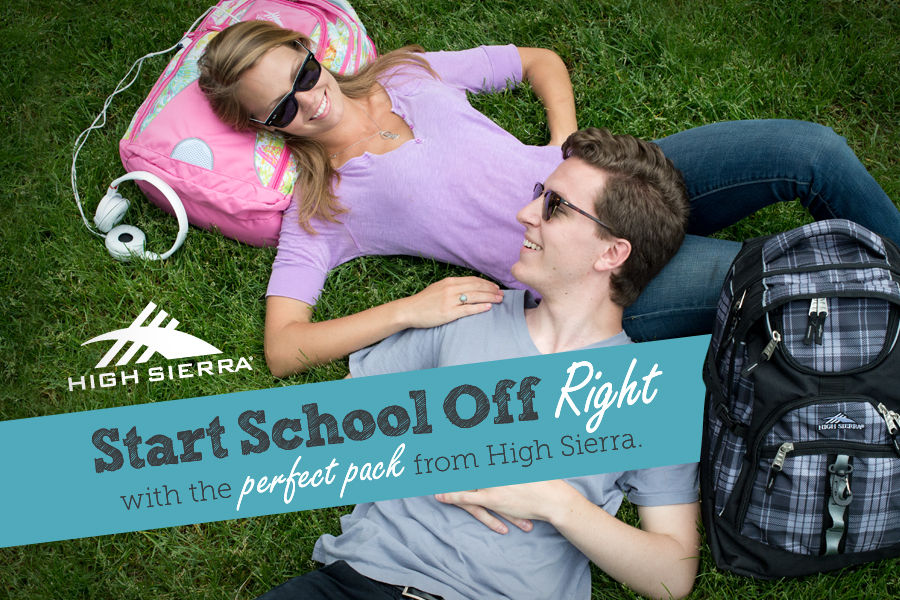 Start School Off Right & shop for the perfect backpack from High Sierra