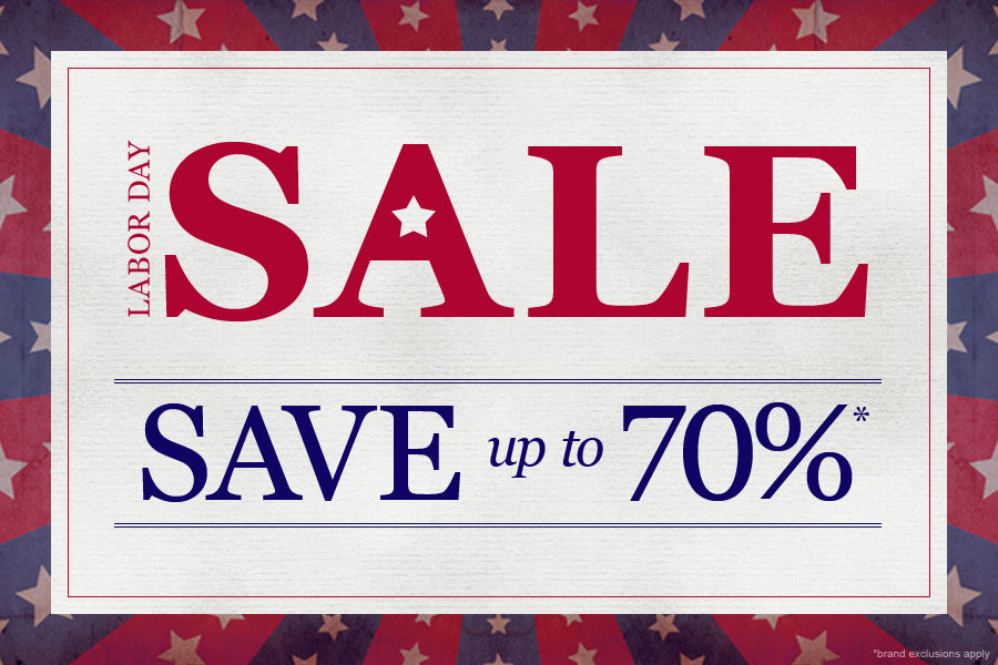Shop Labor Day Sale | Save up to 70%