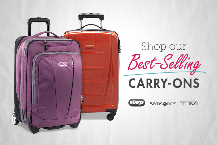 Shop Our Best-Selling Carry-On Luggage