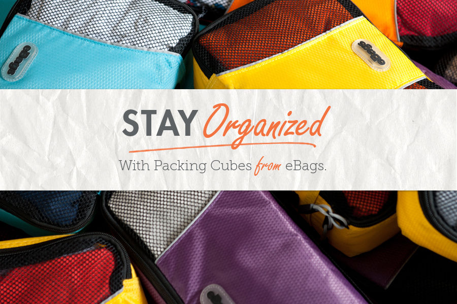 Shop Luggage and Suitcases Packing cubes from the eBags Brand