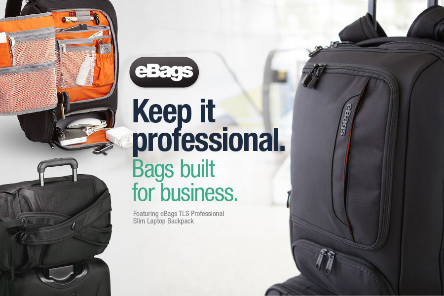 Keep It Professional. Shop eBags brand backpacks and business laptop bags built for business.