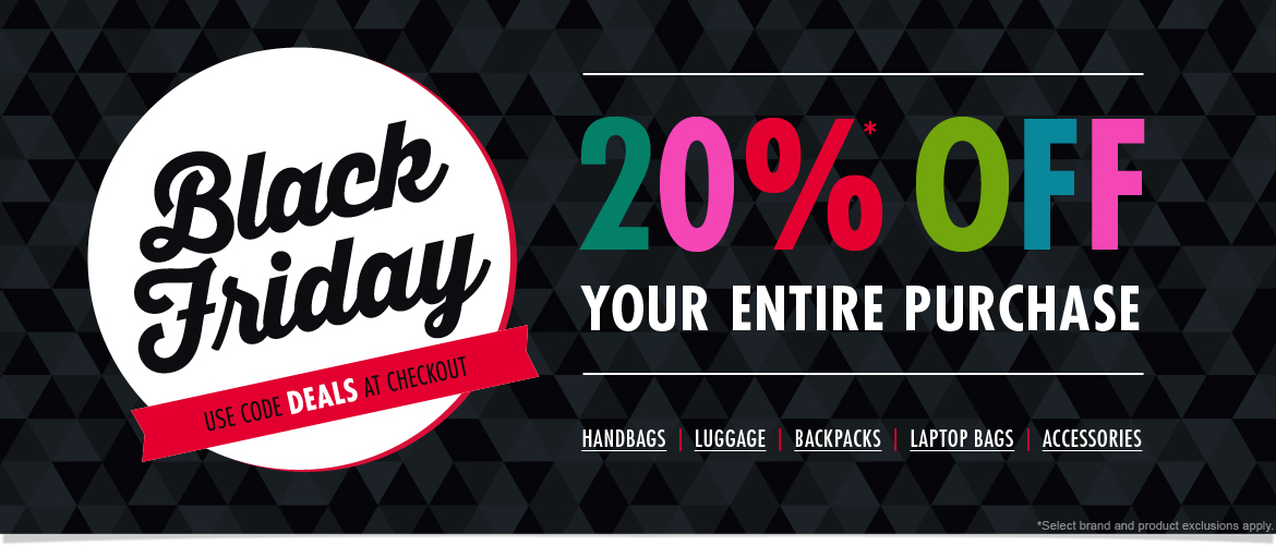 Black Friday! Take 20% Off Your Entire Purchase. Use code DEALS at Checkout.