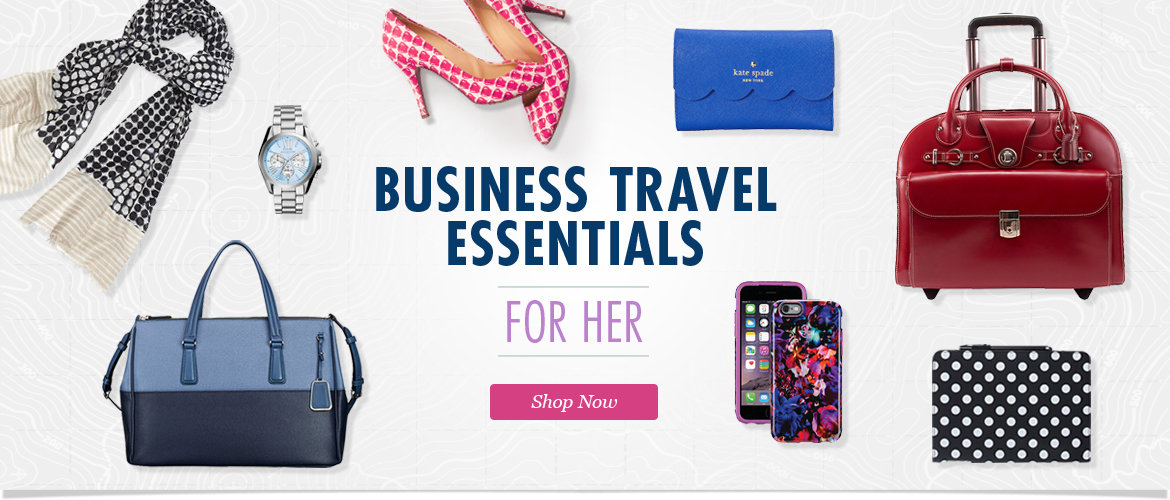 Business Travel Essentials for Hem. Shop Tech Accessories, Laptop Totes, Travel Accessories, Handbags, Purses and More!