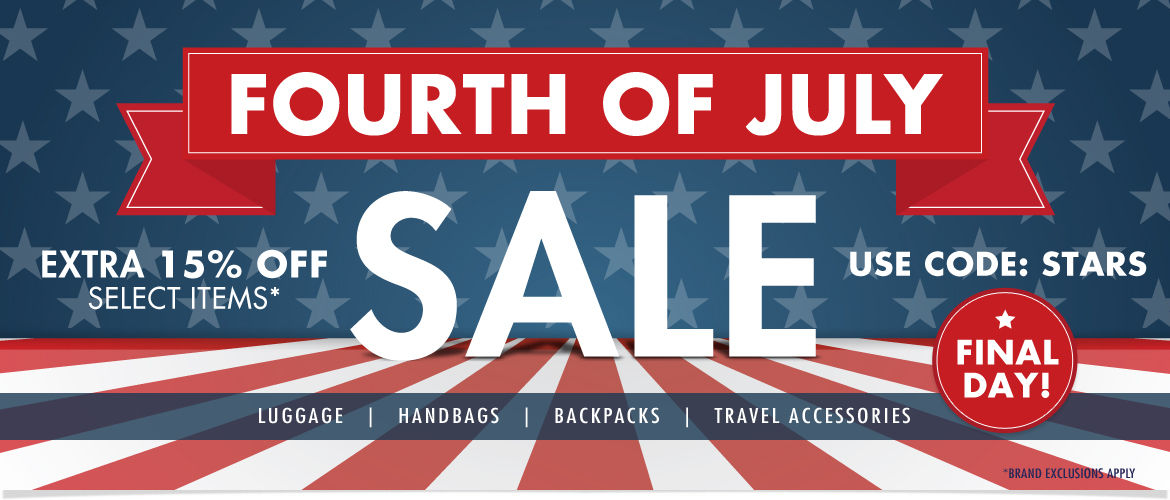Final Day! 4th of July Sale | Extra 15% Off  Select items | Use Code: STARS | Ends Monday 7/6