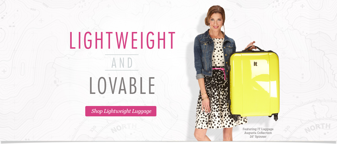Lightweight and Lovable. Shop Lightweight Luggage Now