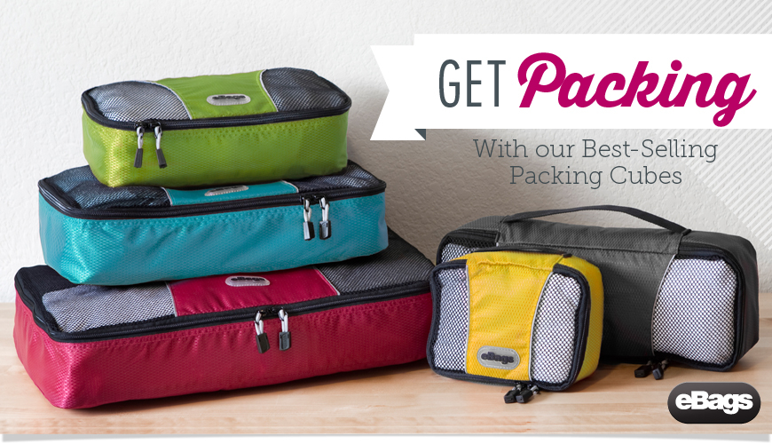 Get Packing with eBags Packing Cubes