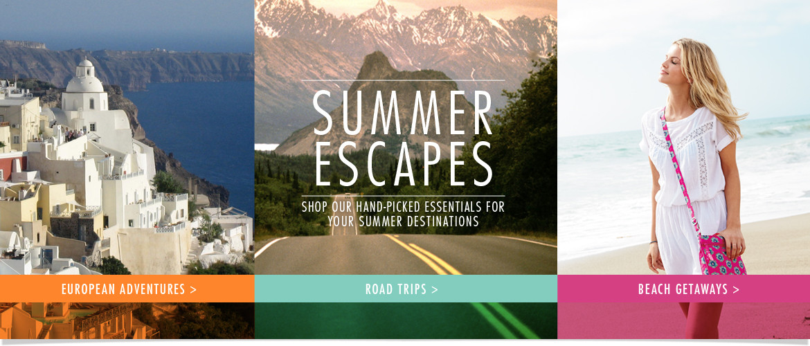 Summer Escapes: Shop our hand-picked essentials for your summer destinations!