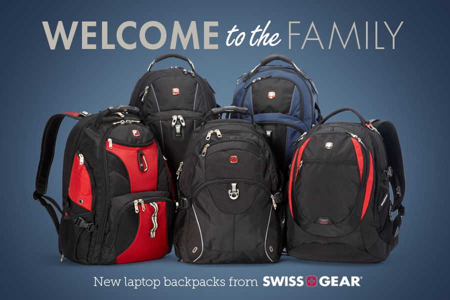 Shop new backpacks from SwissGear