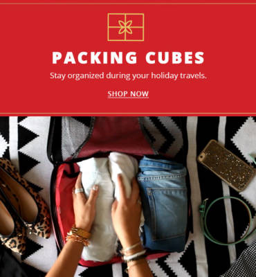 Packing Cubes - Shop Now