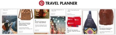 eBags Pinterest Travel Planner