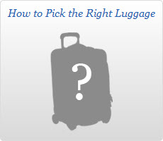 How To Pick the Right Luggage